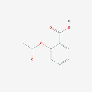aspirin molecule