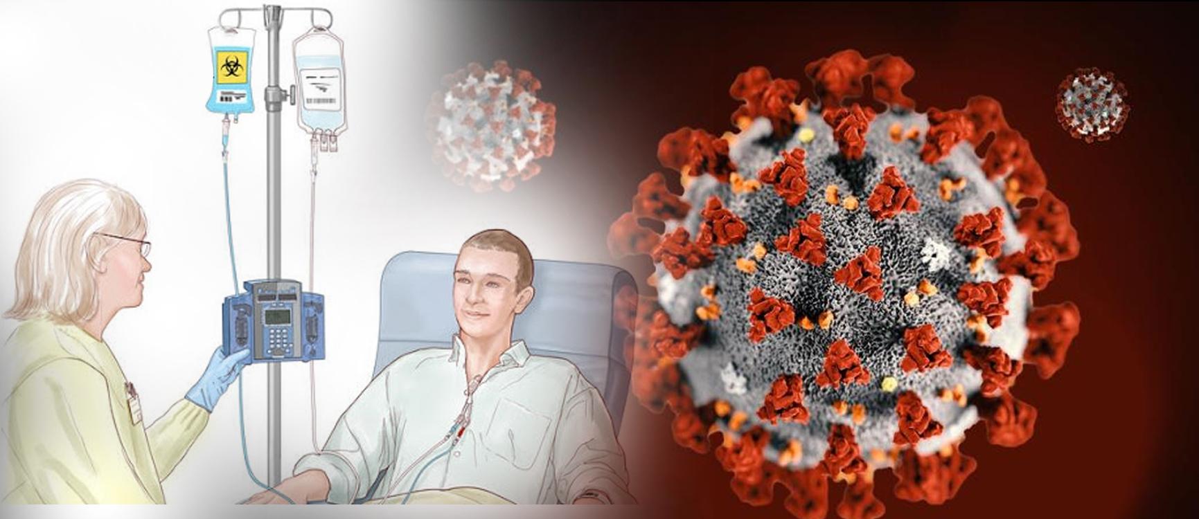 bệnh nhân ung thư nhiễm covid-19